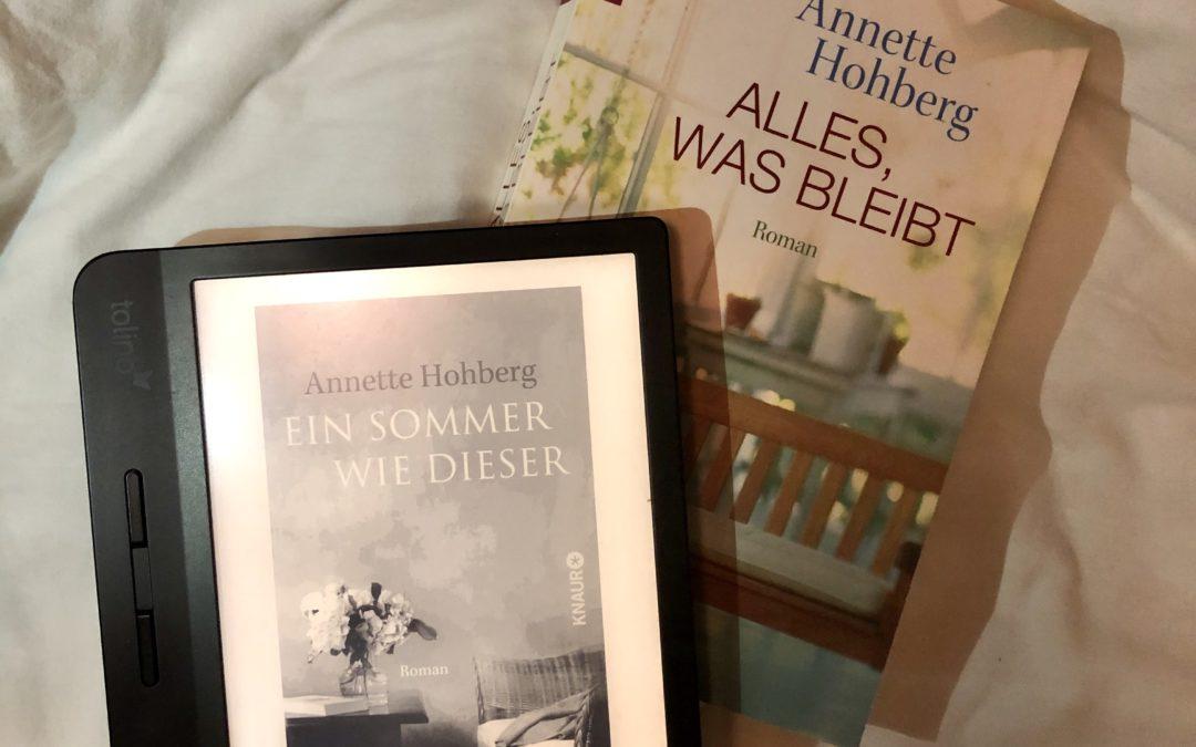 Rezension  Ein Sommer wie dieser – Annette Hohberg